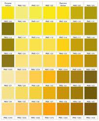Shades Of Yellow Color Chart Pantone Yellow Goldenrod Color Palette In 2019 Shades Of