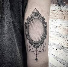 antique hand mirror tattoo. Vintage Mirror Tattoo By Lucas Martinelli Antique Hand T