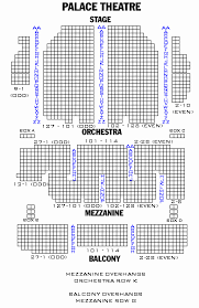 St James Theater Seating Chart 51 Systematic Lyric Theater Nyc Seating View