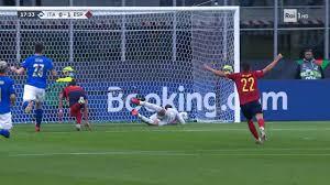 UEFA Nations League 2021 - Gol di Torres, Italia - Spagna 0-1 - Video -  RaiPlay