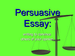 What Is The Difference Between A Persuasive And An
