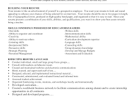 Interpersonal Skills Resume Foreign Languagels Resume Sample Example Marvellous Inspiration 90