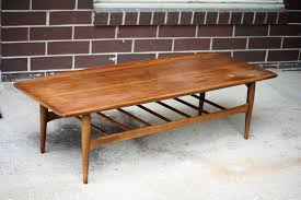 scroll to releve recital rectangle midcentury coffee table hardwood modern contemporary