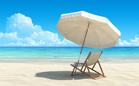 beach umbrella and chair. Brilliant And Beach Recliner Chair And Umbrella On And U