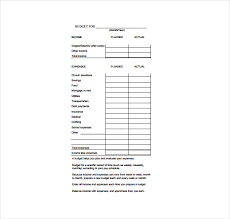 Sample Family Budget Adorable 44 Budget Sheet Templates Free Sample Example Format Download