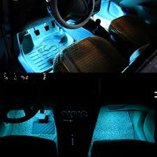 Car Light Decoration Aliexpresscom Buy 4 Pieces Dc 12v Car Interior Led Lights Ice