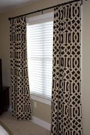 Trellis Pattern Curtains