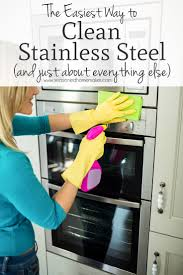 Want to get your stainless steel appliances clean and shiny without using  harsh chemicals. This