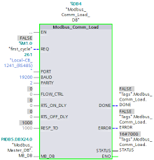 plc myforum ro view topic simatic modbus the acyclic block modbus comm load must have been run through once done before the modbus master or modbus slave is called for the first time
