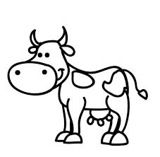 Animali Da Stampare E Colorare Gratis Disegni Di Cane Gatto Mucca
