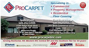 pro carpet carpeting 5580 ridge rd w spencerport ny phone number yelp