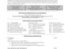 Medical Coder Resume Sample Medical Billing And Coding Resume