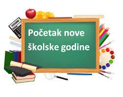 Slikovni rezultat za počela nova školska godina