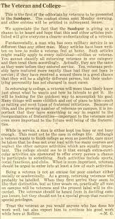 veteran essay words from rollins veterans from the rollins  words from rollins veterans from the rollins archives veteransessay1945 11 07