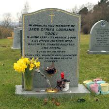Select from premium caroline flack of the highest quality. Poignant Picture Of Jade Goody S Lonely Grave On Ninth Anniversary Of Death Mirror Online