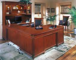 shaped home office. Home Office - Wood Veneer Shaped