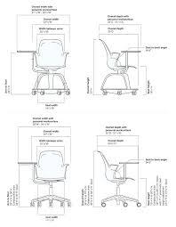 standard desk chair dimensions node chair dimensions standard office chair height cm