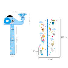 Ruler Measurement Chart Details About Kids Height Growth Chart Ruler 3d Movable Animal Head Measurement Wall Decals