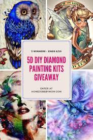 5d diy diamond painting kits giveaway 1