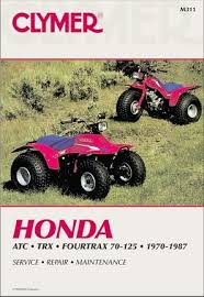 honda atc70 90 110 125 fourtrax trx125 repair manual 1970 1987 honda atc70 atc90 atc110 atc125 fourtrax 70 125