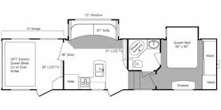 2009 keystone raptor 300mp floorplan view floorplan