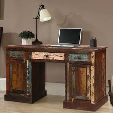Office table with drawers Cabinet Venus Reclaimed Wood Office Desk With Drawers Doors Hover To Zoom Sierra Living Concepts Venus Reclaimed Wood Office Desk With Drawers Doors