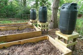 garden soaker hose. How To Make A Rain Barrel System For Your Survival Garden Soaker Hose