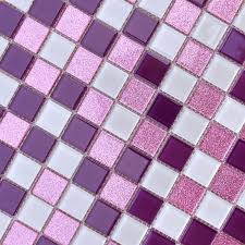 crystal glass mosaic sheets purple wall stickers kitchen backsplash ideas floor mirror designs bathroom tile shower