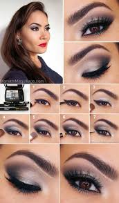 wedding makeup for brown eyes feline fatale clic smokey eye romantic wedding