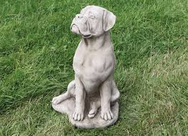 dog garden statue. Boxer Dog Statues Garden And With Free Shipping Religious Statue E