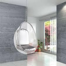 Modern Hanging Chair Bedroom Elegant Brown Rattan Hanging Chair For Bedroom Decor