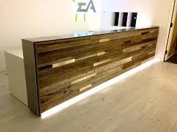 office counter design. Delighful Office Reclaimed Wood Reception Desk A Office Receptionreception Areasreception  Counterreceptionist Design Ideas Dental To Counter