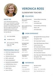 Teacher Resumes - 27+ Free Word, Pdf Documents Download | Free ...