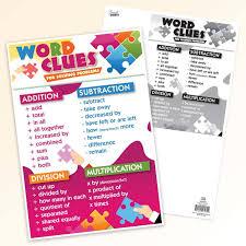 Smart Chart Word Word Clues Smart Chart Top Notch Teacher Products Inc
