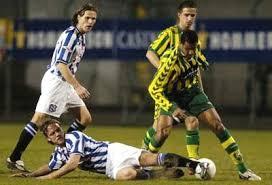 Jong SC Heerenveen versloeg de beloftes van ADO Den Haag met 1-3 in het stadion in Den Haag