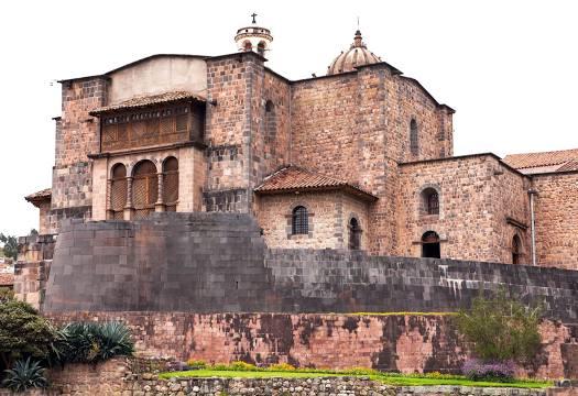 Coricancha é um dos pontos turísticos mais importantes do Peru.