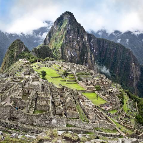 Machu Picchu, a cidade histórica e mágica do Peru.
