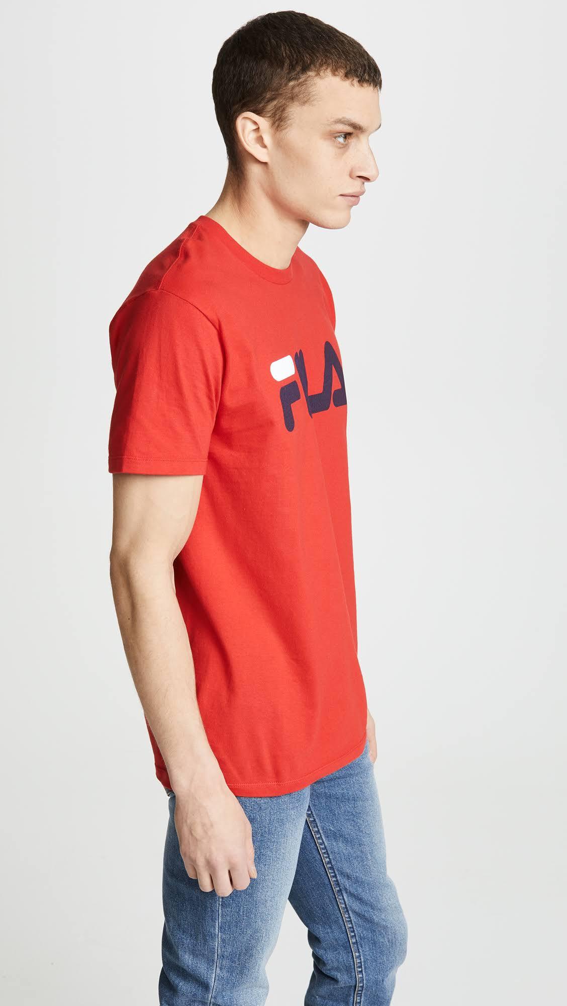 Chino Fila Rojo Tee M Logo q6pnwEZzx