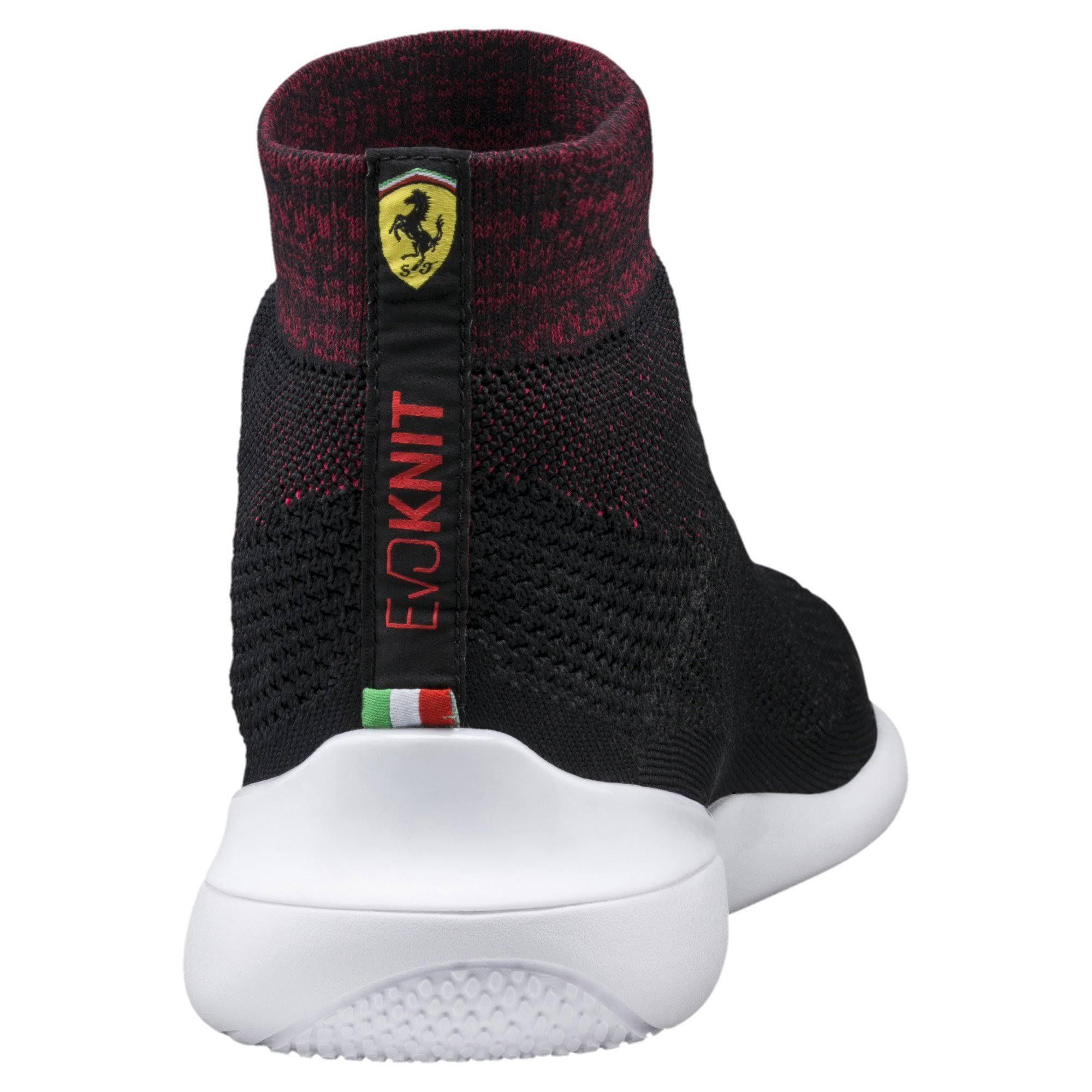 Color Evo Ferrari 7 Para Blanco Corsa Zapatilla Tobillo Hasta M El Rosso Hombre Puma Cat Moda De Negro Deporte BACnf