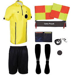 Amazon.com - New! Pro Soccer Referee Package (9 Piece)