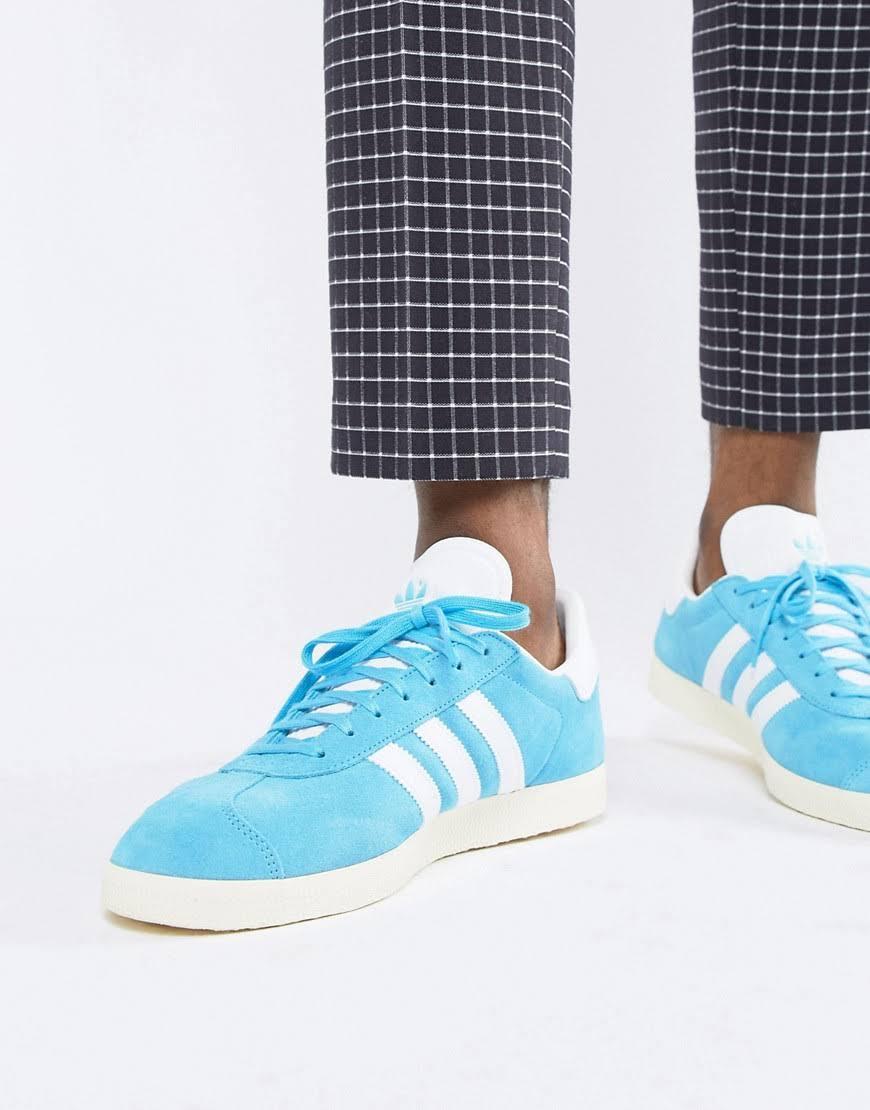 In Suede B37945 Blue Originals Sneakers Adidas Gazelle aqIO8I