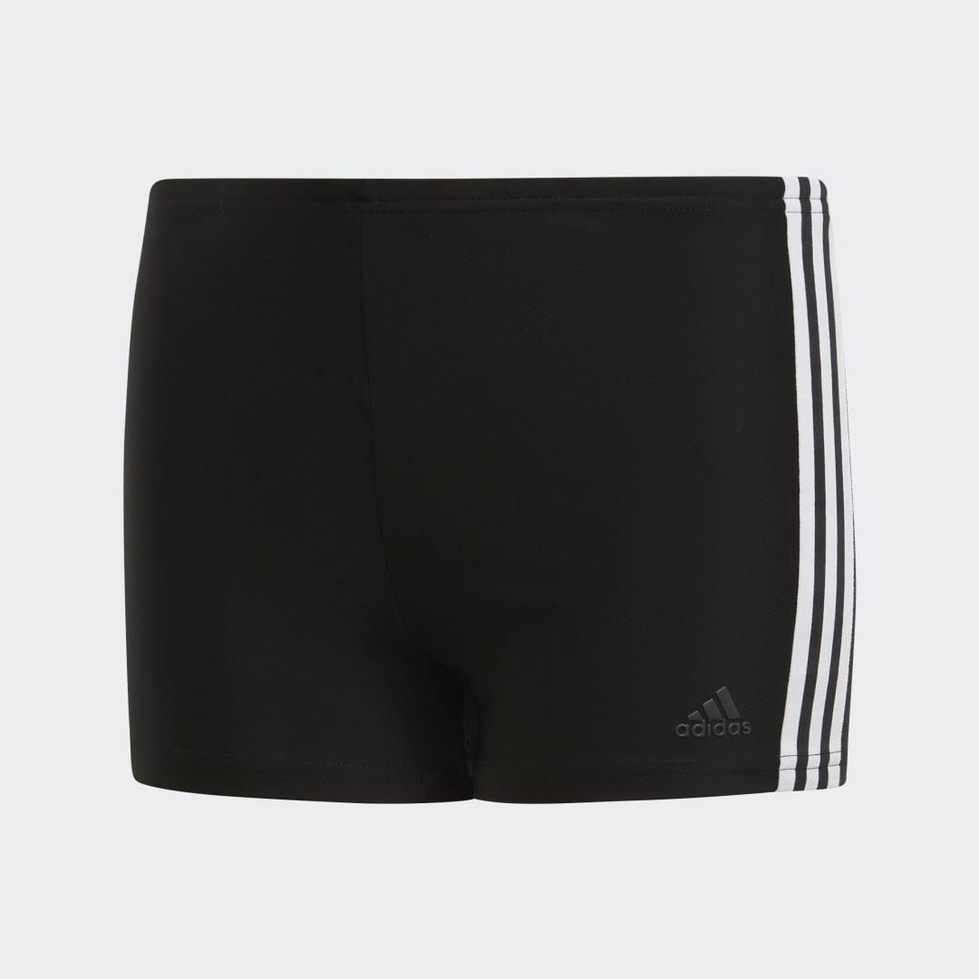 Adidas Performance 3-Stripes Swim Boxers - Black