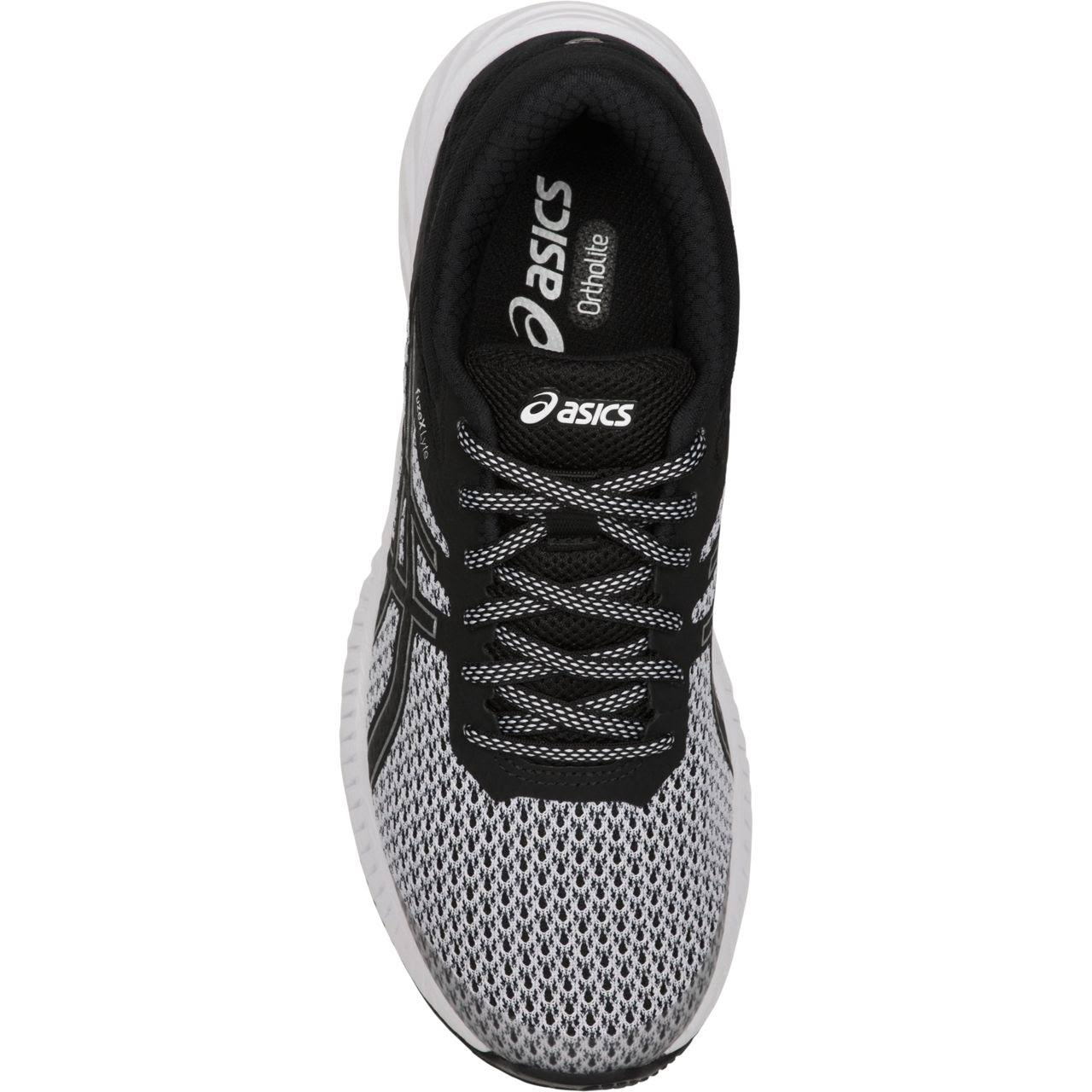 Shoe Fuzex Running Lightweight white Lyte Women's 2 Black Asics XFwq7xF