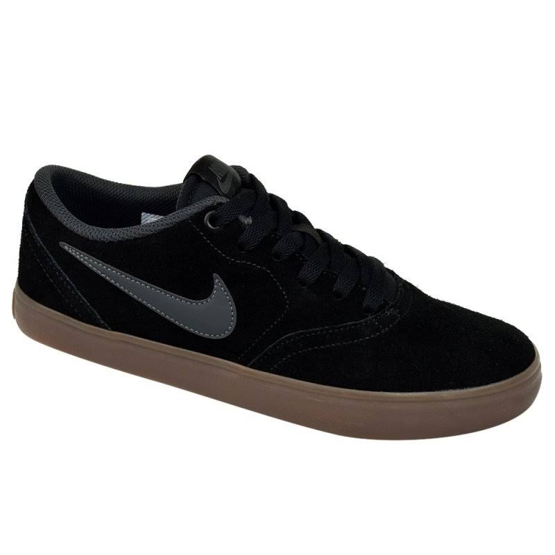 Sapatos Dark Gum Brown Chumbo Anthracite Solarsoft Check Black Nike Sb tHwqfUwg