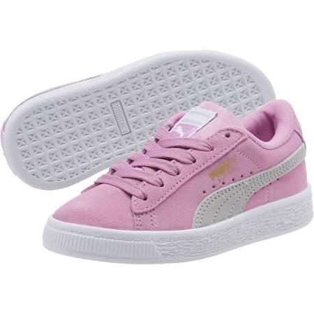 2 Sneakers Preschool 5 Suede Classics Violet Grey Orchid Puma I4ROxzW