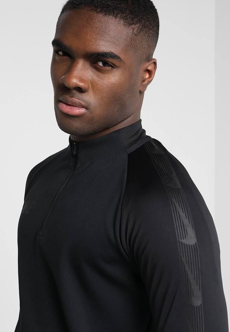 Nike Negra Mediana Hombre Dry Para Performance Talla Camiseta Dril Deportiva Cx8vzw5q