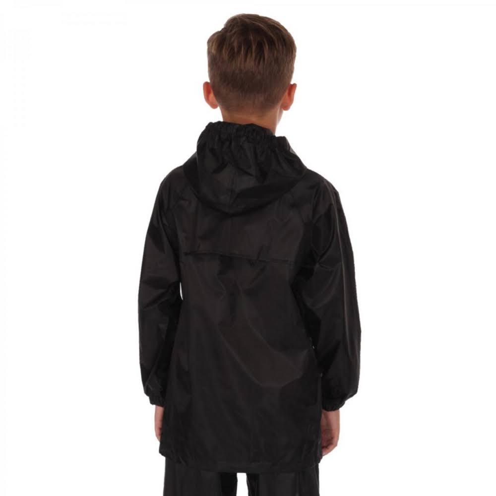 Negro De Niños Y Chaqueta Niñas Regatta Stormblash 2 Azul Para ZaAOU0