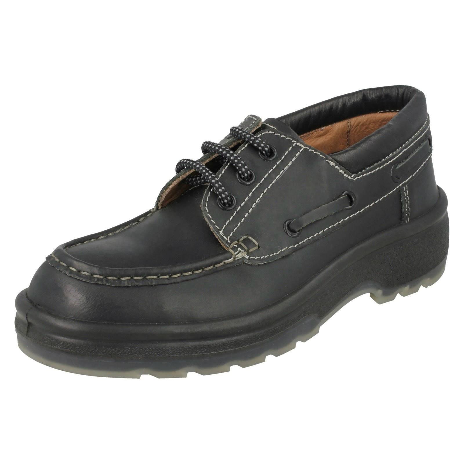 (UK 6.5, Black) Mens ZX Safety Shoes 1005