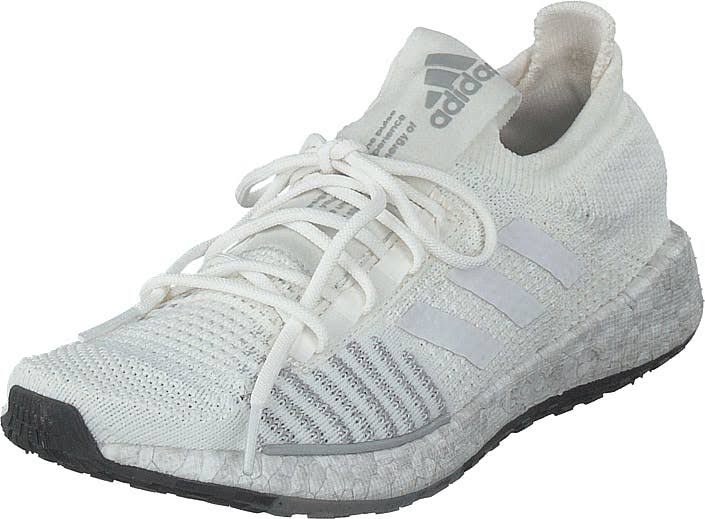 adidas Sport Performance Pulseboost Hd W Core White/ftwr White/grey Two, Shoes, Trainers and Sports shoes, Running Shoes, White, Women, 37