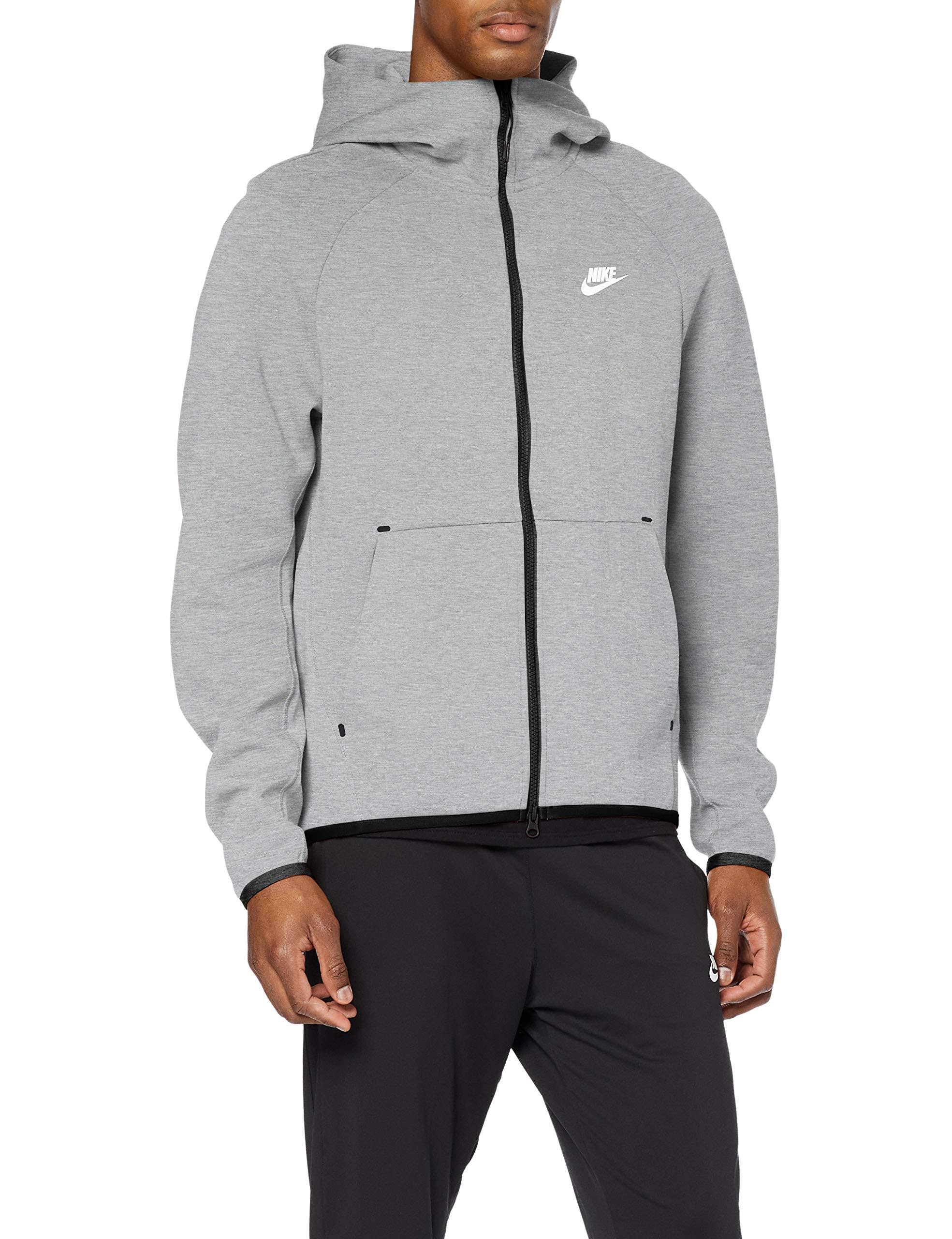 Nike Tech Fleece Hoodie, Grey, XXL